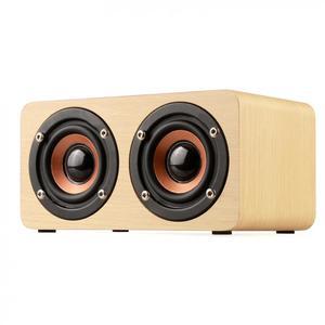 Image 4 - W5 10W 52 MILLIMETRI Doppio Corno Di Legno 4.2 Speaker Bluetooth con AUX Audio di Riproduzione e di Interfaccia Micro USB per il Telefono Mobile/PC
