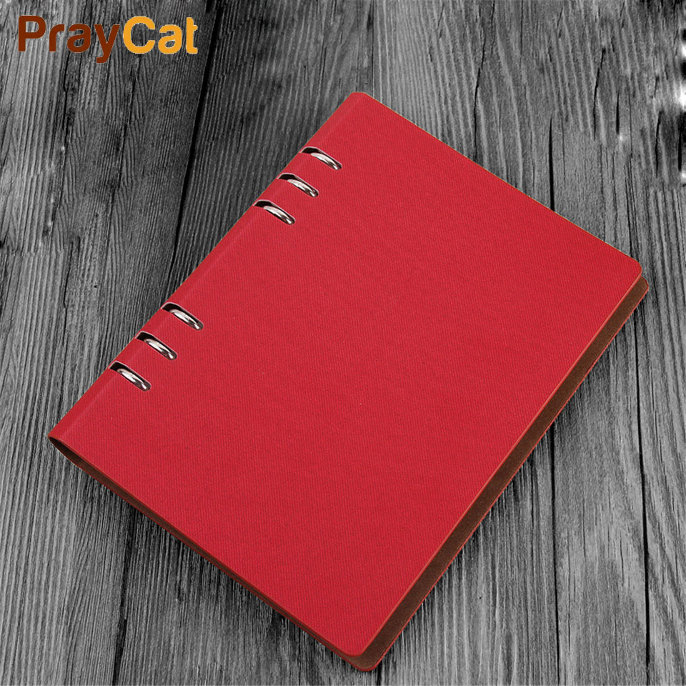 все цены на A5 Dokibook Spiral Notebook Leather Cover Organizer Writing Pads LOGO Customized Notebooks And Agenda Planner Journal Book онлайн