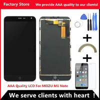 AAA Quality Original LCD Original Frame For MEIZU M1 NOTE Lcd Display Screen Replacement For MEIZU
