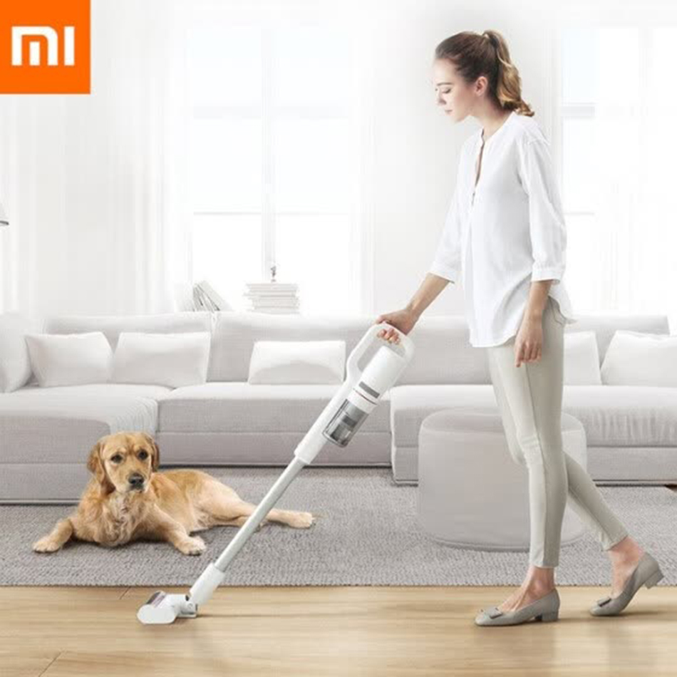 Xiaomi Roidmi F8 Wireless handheld Vacuum Cleaner Dust Collector Bluetooth LED Brush House Car Multifunction Vacuum Cleaner