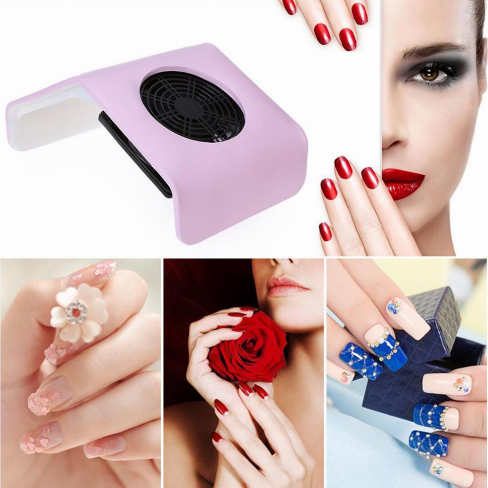 Image 4 - Nail Dust Suction Collector Vacuum Cleaner for Manicure Nail Art Tools Nail Suction Tips Dust Cleaner with Dust Collecting Bags-in Nail Art Equipment from Beauty & Health