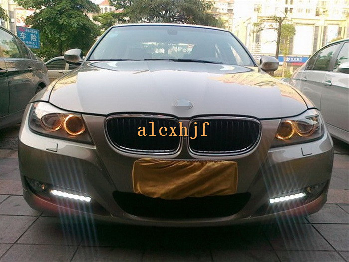 July King LED Daytime Running Lights DRL, LED Fog Lamp Case for BMW 3 series E90 LCI 316i 318i 320i 325i 328i 330i 2008~2012