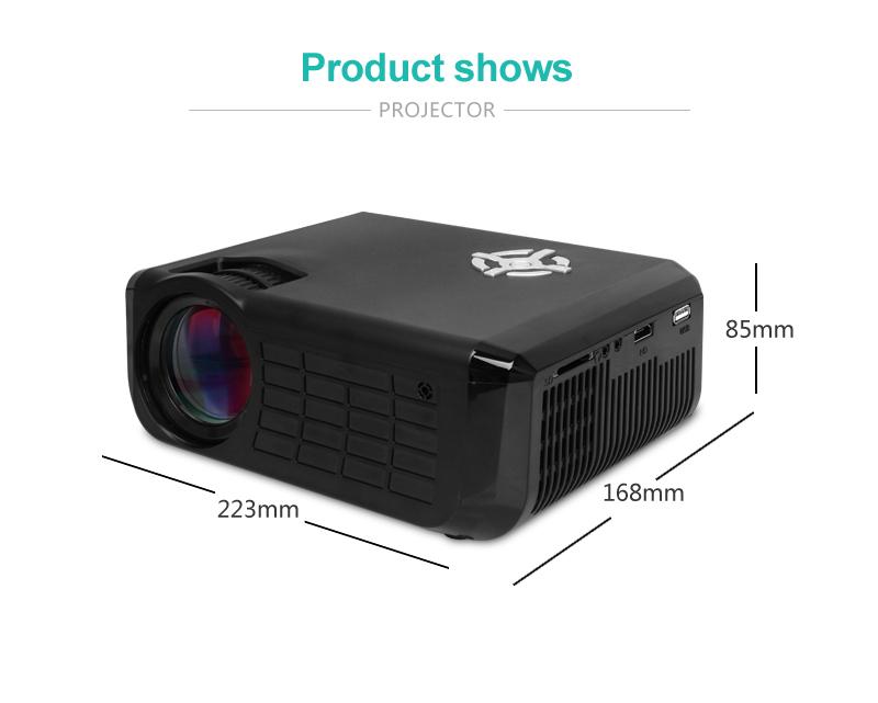 M17 Mini Projector Full HD (2)