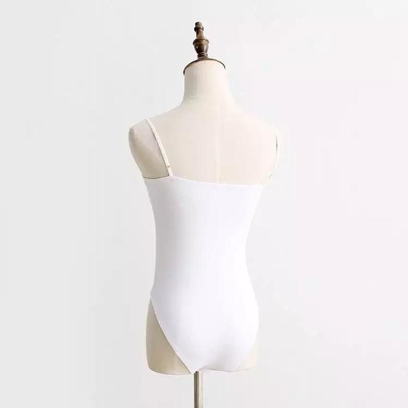 9606e6416923 Moda Jihan New Brand Design Women Jumpsuit Camisoles Spaghetti Strap Camis  Cotton Spandex Basic Tube Bodysuit Adjustable Straps -in Camis from Women s  ...