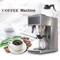 Automática eléctrica destilación cafetera comercial hogar Americano cafetera con 2 piezas 1.8L jarra
