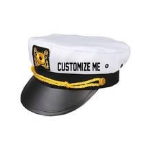 b3d8b351d5b custom nautical wedding bridesmaid bride hats marina Captains hats  Bachelorette birthday Lets Get Nauti get ship