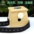 Caixa de moxabustão único furo de bambu massagem moxabustão monocular quipment