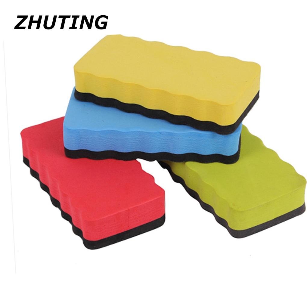 Home School Stationery EVA & Foam Blackboard Eraser Foam Rubber Powder Whiteboard Dry Eraser 6 For Sale