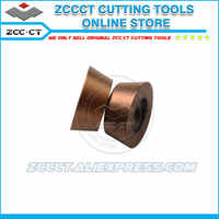 50pcs ZCC milling insert RDKW 1204 MO YB9320 R6 size face mill insert for stainless steel from medium cut to roughing RDKW1204
