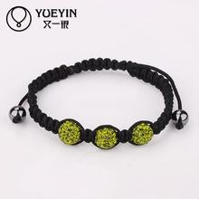 B036 Shamballa jewelry Wholesale bracelet kors bracelet brand Handmade Genuine Leather Man Bracelets Cool Men Jewelry