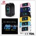 CONTEC Brand 2017 CONTEC pulse Oximeter CMS50D 6 colours Free shipping Manufacture CMS50D Finger Pluse Oximeter+Free shipping