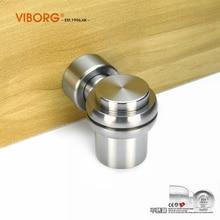 Выборг люкс SUS304 нержавеющая сталь литье сверхмощный мощный напольный магнитный дверной стопор дверные стопоры, RS-07B