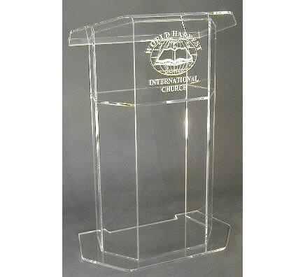 Hot sale Free Shiping Customized Acrylic Church Lectern / Pulpit / Lectern / Podium Cheap Church Podium купить