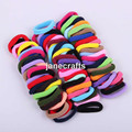 96pcs 8mm Mix Colors Baby Girls Kids Children Elastic Hair Ties Bands Rope Ponytail Holders Headband Scrunchie Hair Accessories