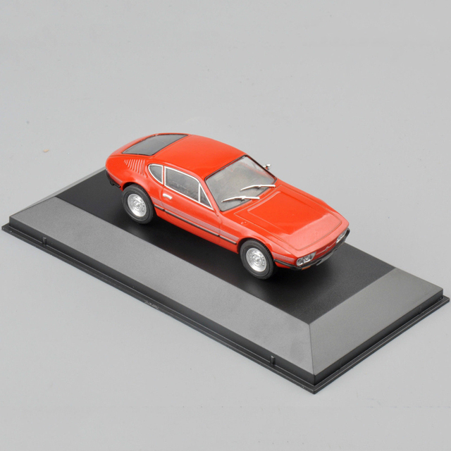 Atlas 1/43 Escala Diecast Volkswagen SP2 (1973) Vehículo Modelo Regalos Para Niños Colecciones