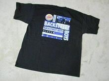 VINTAGE Backstreet Boys Black & Blue Concert Shirt Adult Extra Large Band 90s Loose Men T shirts Homme Tees