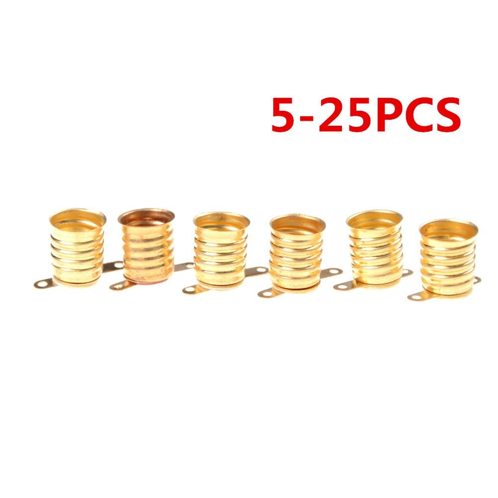 5PCS -25PCS E10 Lamps Base Holder Bulbs Light Base Socket Home Experiment Circuit Electrical Test Accessories