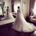 Romântico Querida Strapless Vestido de Noiva de Tule Com Pétalas Em Saia Vestido De Noiva Robe De Mariage