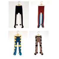 2017 new wolf Tights for baby kids pants