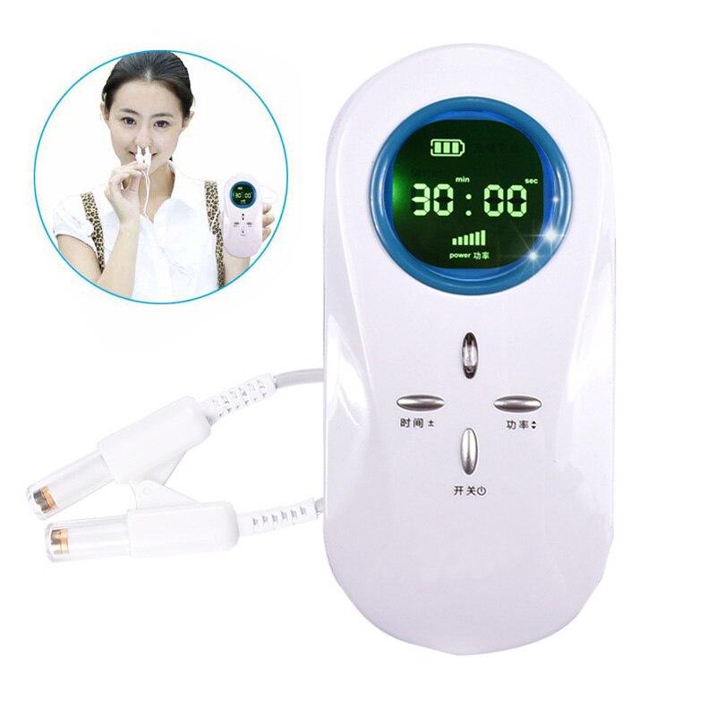Semiconductor Laser Rhinite Traitement Portable Nez Allergy Cure Instrument Rhinite Sinusite Médical Thérapie Appareil