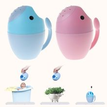 Baby Shower Cup Bath Spoon Cartoon Toys Newborn Kids Childre