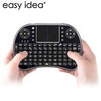 HOT Mini QWERTY i8 Air Mouse Teclado Sem Fio 2.4G USB teclado Com Touchpad Teclado Para PC Portátil Android TV BOX Xbox360