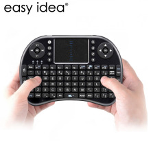 HOT Mini Wireless Keyboard Air Mouse i8 2.4G USB QWERTY Keyboard With Touchpad Teclado For PC Laptop Android TV BOX Xbox360