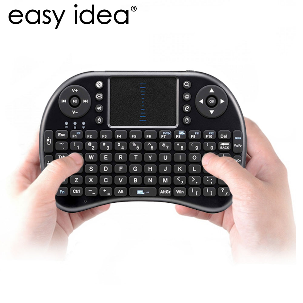 HOT Mini Wireless Keyboard Air Mouse i G USB QWERTY Keyboard With