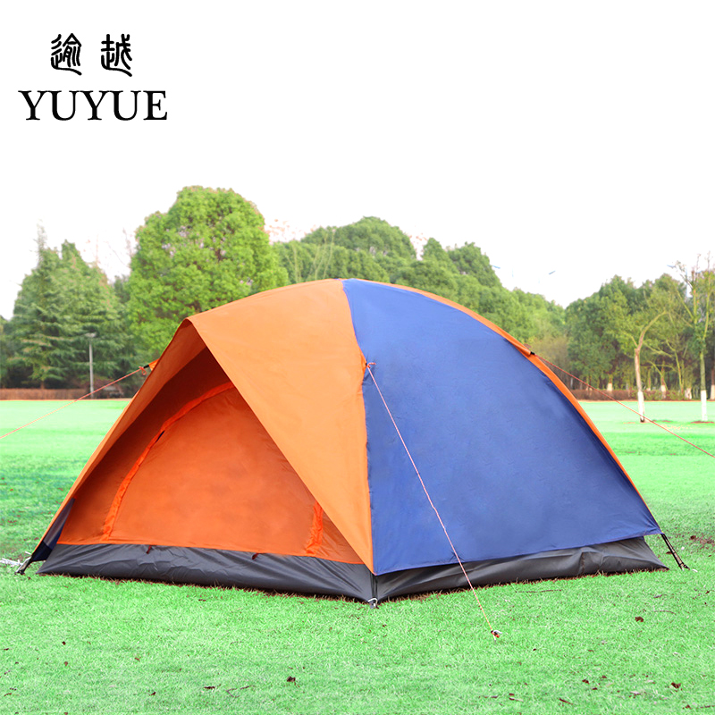 3-4 person UV protection car tent for cleary day hiking gazebo double layer outdoor camping for sunny day   4