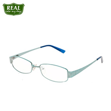 REAL 2019 Fashion Vintage Metal Reading Glasses For Women Myopic Glasses Square Glasses Frame Prescription Optical Glasses cheap FRAMES Eyewear Accessories Stainless Steel Solid 2195 Pink Purple Blue China Wenzhou Woman carving 1-5days 30mm 52mm Flat light