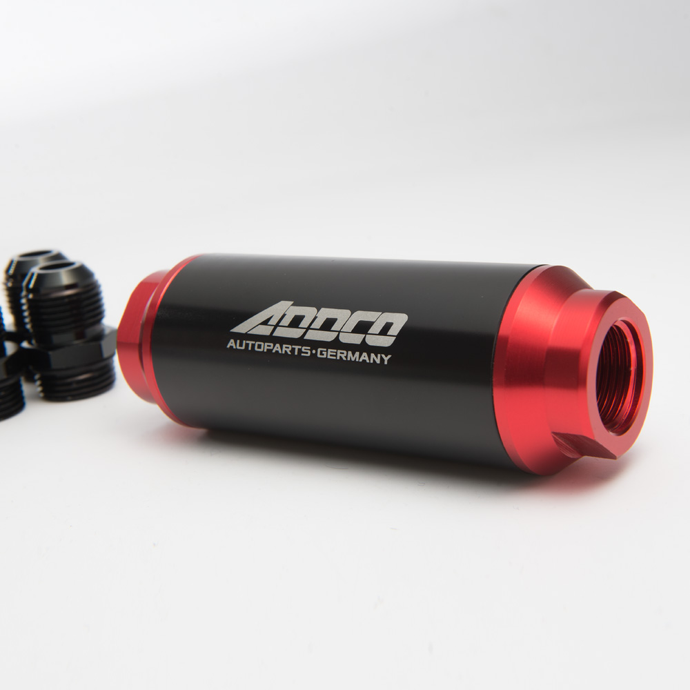 Hi Flow Performance Fuel Filter Black & Red w AN10 AN8 AN6 Adapter 40  Micron ADF09901-in Fuel Filters from Automobiles & Motorcycles on  Aliexpress.com ...