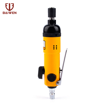 High Quality 1/4 Cut Off Cutting Air Pneumatic Angle Die Grinder Polisher Grinding Cleaning Tool Sliver / Blue