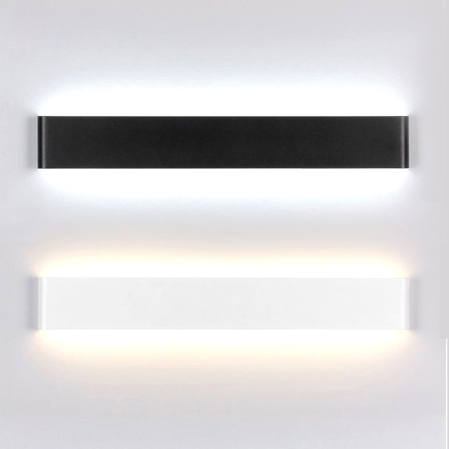 moderne minimalistische led wandlampen aluminium slaapkamer bedlampje creatieve badkamer led verlichting 6 w14 w