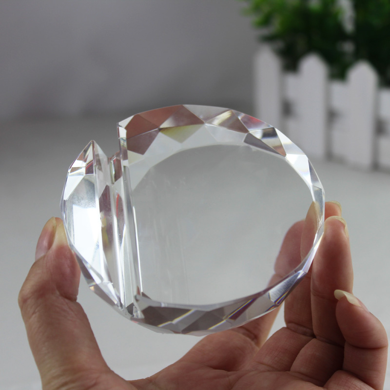 Jqj crystal glass faceted card holder ball paperweight clear rare note they are all taken by ourself and the product is more beautiful than the picture and we can accept all kinds of designlooking forward to colourmoves