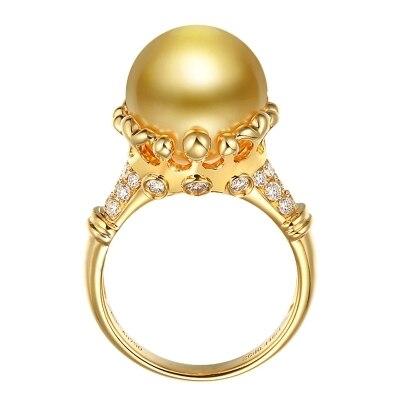 Женские Модные золотой жемчуг