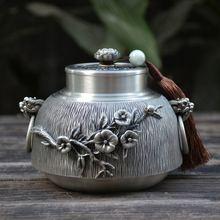 Урна пепел человеческие урны для праха похорон кремации Ручной Работы Красивый тисненый чистый Олово 97% свинец оловянный ручной работы в Китае