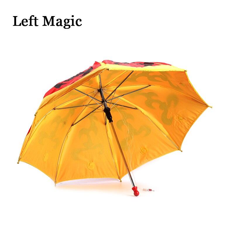 Parapluie changeant de couleur (changement de couleur une fois) Production de Parasol tour de magie parapluie couleur scène accessoires magiques accessoire magique - 5
