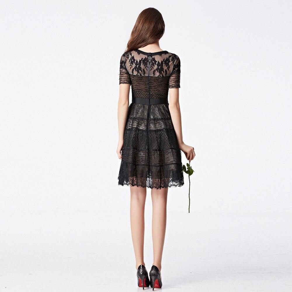 63f994e97 Coniefox 31101 negro corto vestidos coctel de lujo 2016 Organza vestido de noche  vestido Formal vestidos en Vestidos de cóctel de Bodas y eventos en ...