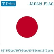 купить 3x5Ft 90*150cm/60*90cm/40*60cm/15*21cm Japan National Flag Home Decoration Japanese For World Cup National Day Olympic Games по цене 78.16 рублей