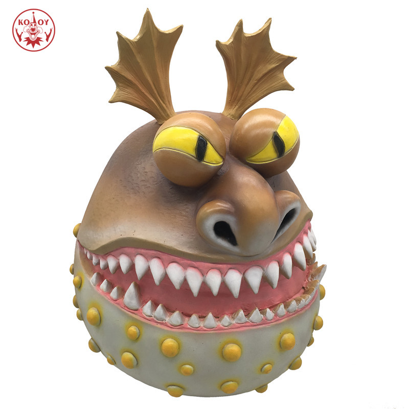 New How To Train Your Dragon cosplay mask Helmet Adult Halloween Party costume The Hidden World Horror dragon latex masks