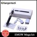 Original Kanger EMOW Mega Starter Kit 1600 mah bateria de tensão EMOW com 2.8 ml controle de fluxo de ar Aerotank Mow mega-atomizador