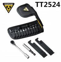 Topeak TT2524 Ratchet Rocket Lite function Tools Mountain bike T10/T25 Torx chain pin breaker Hex Wrench Allen Key Socket set