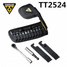 Topeak TT2524 Ratchet לייט פונקצית כלים הרי אופני T10/T25 Torx שרשרת מפסק פין Hex ברגים אלן מפתח שקע סט