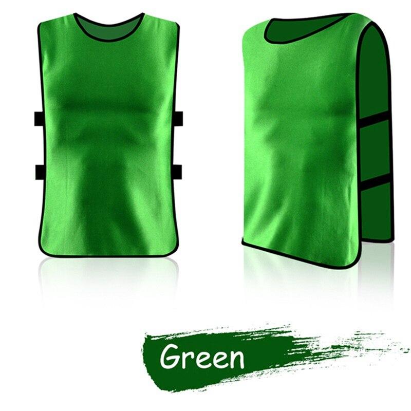 Adult Children Kid Team Sports Football Soccer Training Pinnies Jerseys Quick-dry Breathable Training Bib Vest