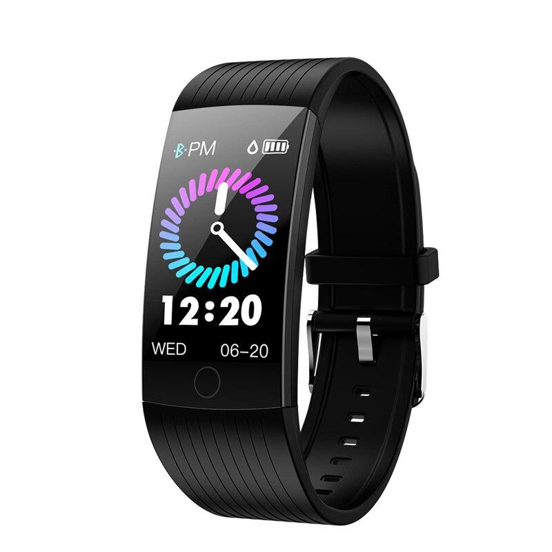 Intelligente Armbänder Teamyo Q18 Blutdruck Monitor Smart Armband Ip68 Wasserdichte Smart Armband Fitness Tracker Für Android Und Ios Telefon Wohltuend FüR Das Sperma Tragbare Geräte