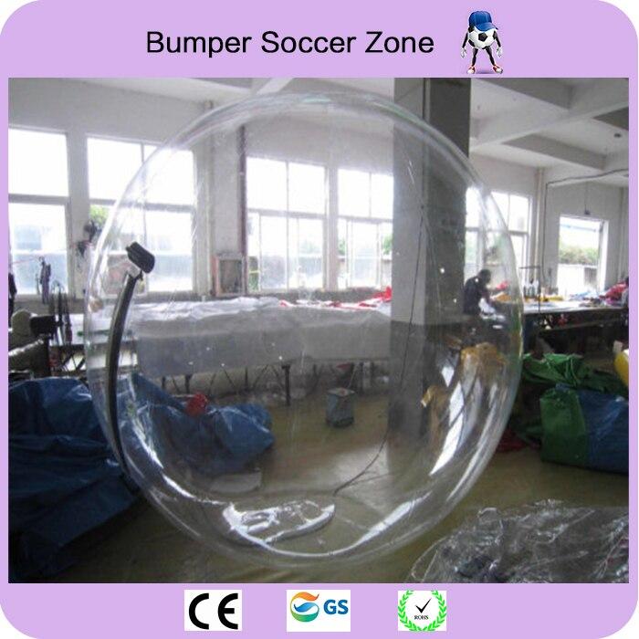 ТПУ 2 м Одежда высшего качества воды гуляя Зорбинг воды мяч гигантский мяч Зорб шар надувной людской воды Футбол