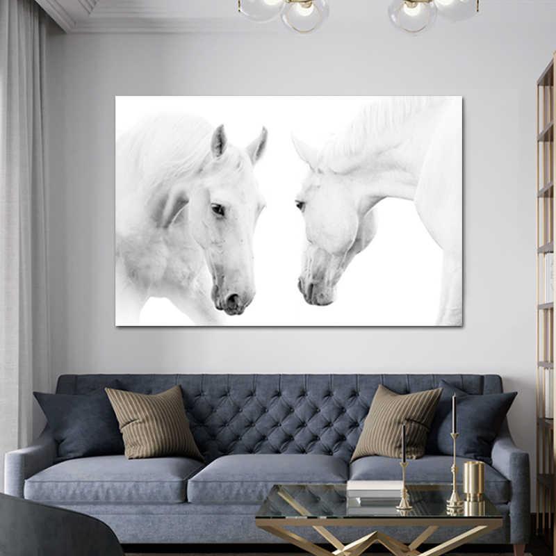 постер с лошадью джиперы