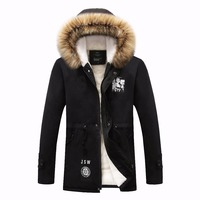 HCXY 2016 Hot Selling Fashion Casual Winter Jacket Men Coat Comfortable High Quality Hooded Men Jacket