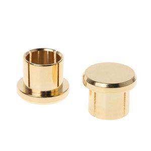 Image 5 - Enchufe para circuito corto chapado en oro, 10 Uds., conector fono RCA, conector de protección, tapas protectoras