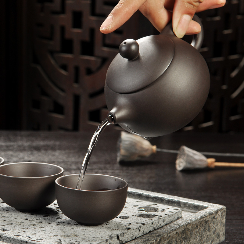 Yixing Purple Sand Gong Fu Tea Ceremony Set 1